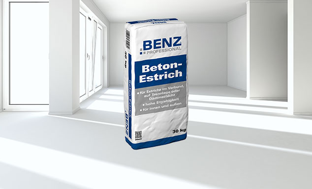 BENZ PROFESSIONAL Betonestrich