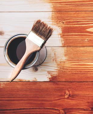 Holzfarbe