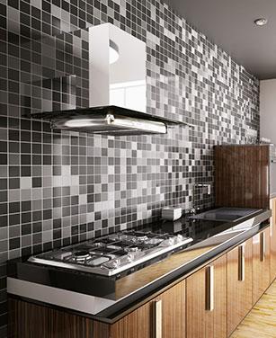 Dekorative Mosaikfliesen