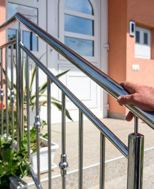 Treppengeländer für außen