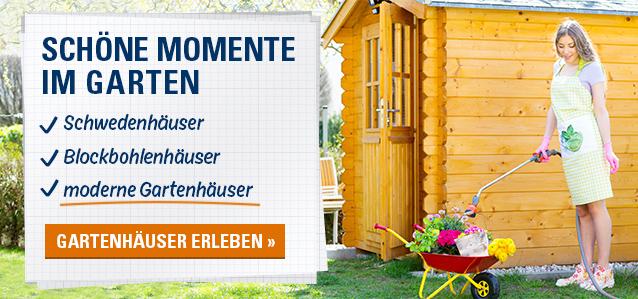 Schöne Momente im Garten – Gartenhäuser