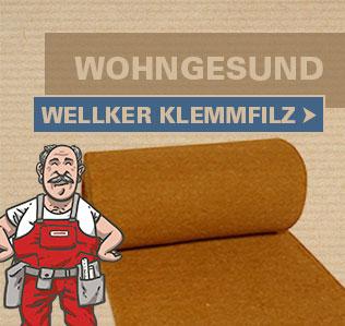 Wellker Klemmfilz