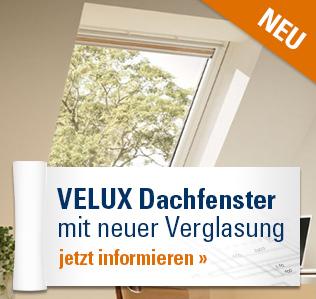 VELUX Dachfenster mit neuer Verglasung
