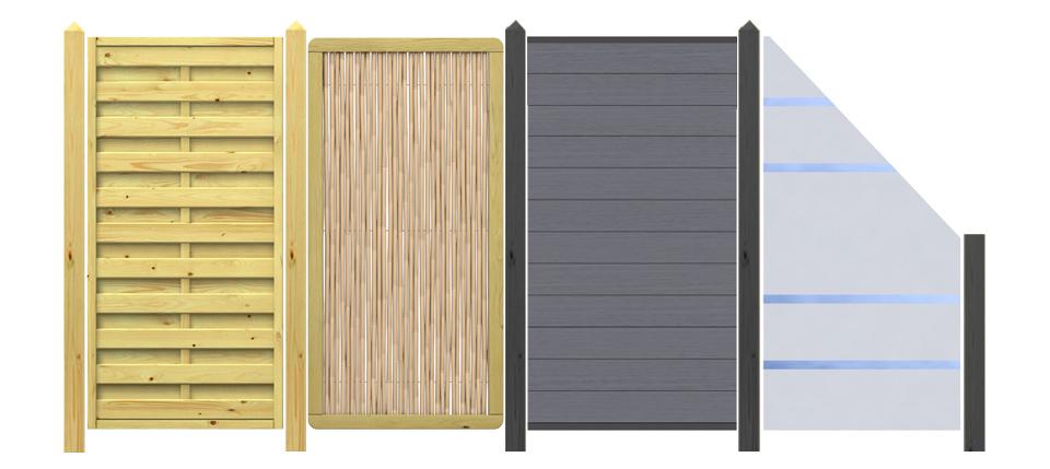 sichtschutzzaun kaufen bis 27 rabatt benz24. Black Bedroom Furniture Sets. Home Design Ideas