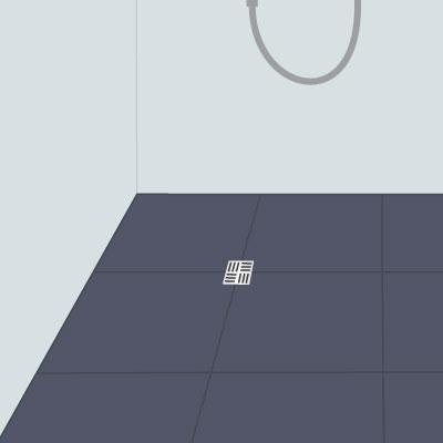 Einen Bodenablauf passgenau in die Dusche einbauen