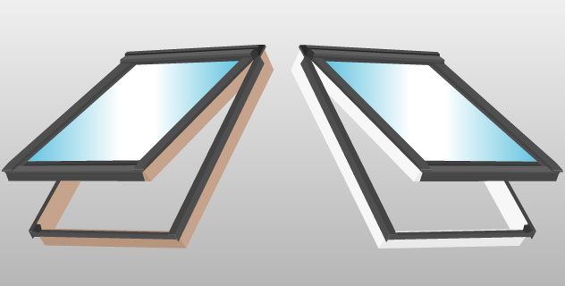 Velux dachfenster gpu 0068 klapp schwingfenster kunststoff - Velux dachfenster austauschen ...
