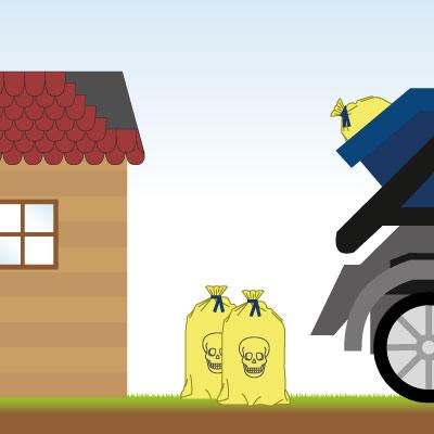 Dachpappe richtig entsorgen