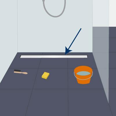 Duschrinne reinigen leicht gemacht
