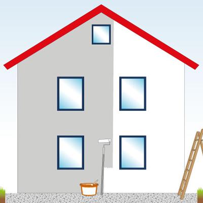 Fassadenrenovierung und -sanierung