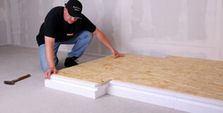 Polystyrol Dachbodendämmung