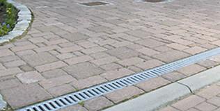 befahrbar PKW Entwässerungsrinnen