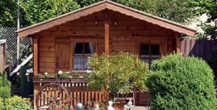 Gartenhäuser Veranda