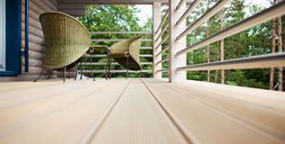 sibirische l rche terrassendielen 27x145mm kombiprofil geriffelt genutet. Black Bedroom Furniture Sets. Home Design Ideas