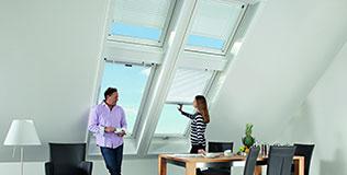 Roto Dachfenster Rollos