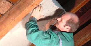 Holzfaser Untersparrendämmung